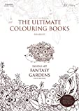The Ultimate Colouring Books for Adults – Doodle Art: Fantasy Gardens (White Edition): Flowers & Animals Colouring Book Anti-Stress & Mindfulness, big ... gorgeous illustrations, right-handed layout